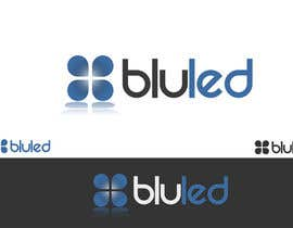 #39 for Logo Design for Blu LED Company af Atmoresamu