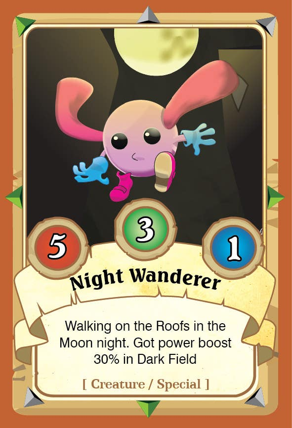 entry 4 by master2015hp for mobile card game ui concept freelancer