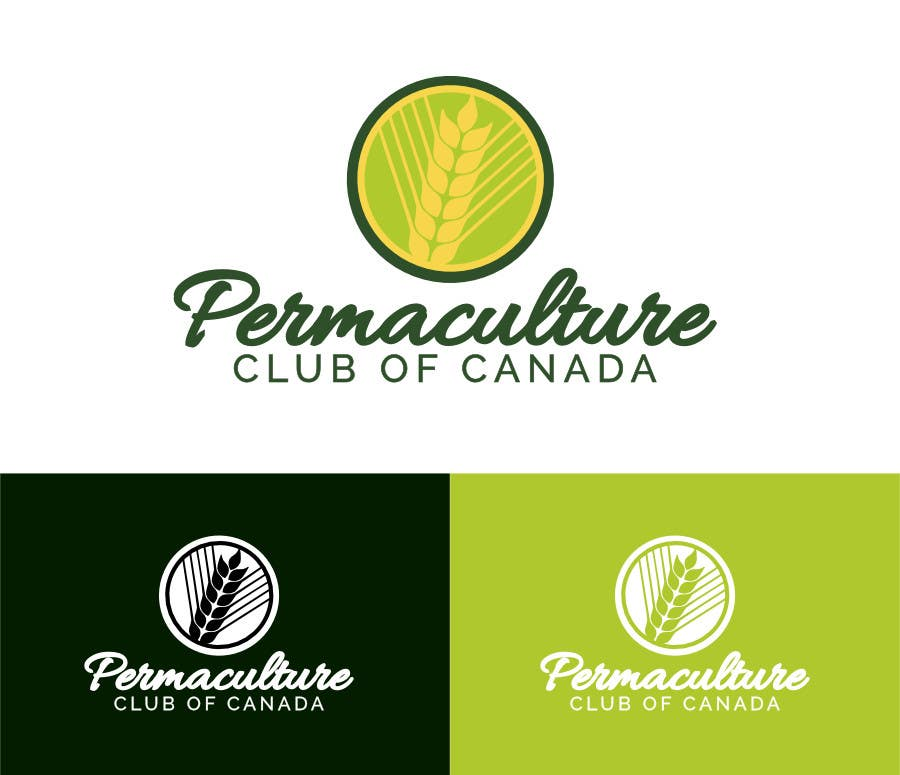 Penyertaan Peraduan #                                        36                                      untuk                                         Design a Logo for Permaculture Club of Canada