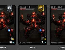 #10 for Online Trading Card Game - Card Layout & Design by kiekoomonster