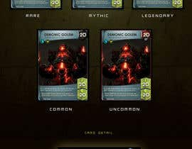 #2 for Online Trading Card Game - Card Layout & Design by cocier