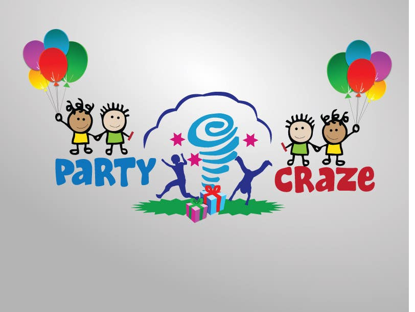 Bài tham dự cuộc thi #167 cho Logo Design for Party Craze.com.au