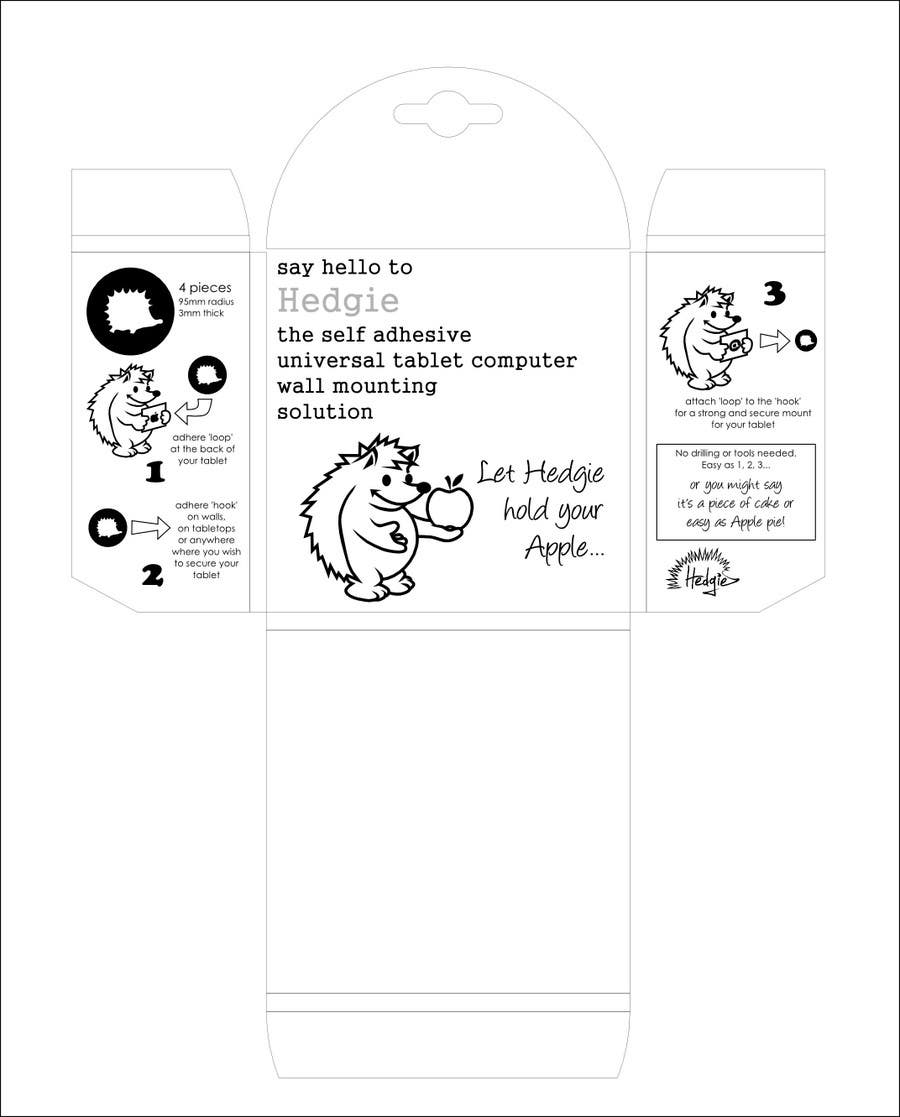 Contest Entry #                                        3                                      for                                         Graphic Design for Hedgie packaging (Hedgie.net)