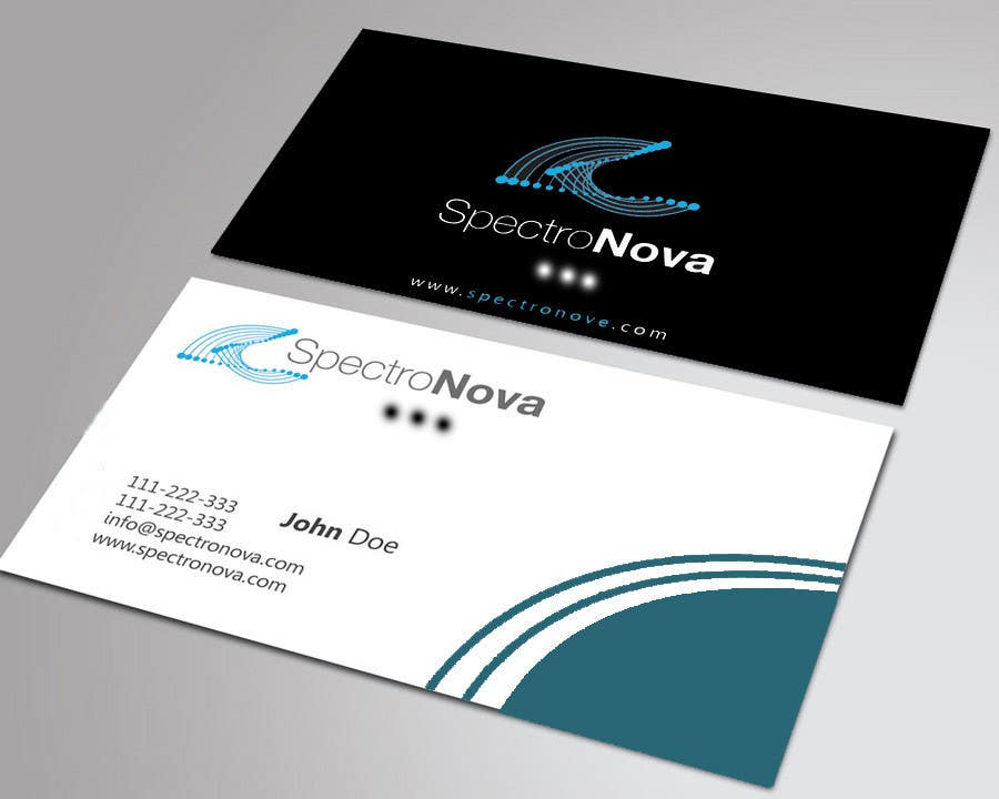 Entry #8 by ali1717 for Design some Business Cards for Tennis Shop ...