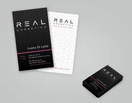 micoslav tarafından Business Card Design for Real Cosmetics için no 3