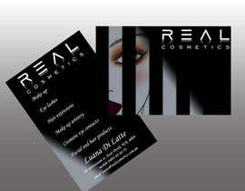 #52 para Business Card Design for Real Cosmetics por ugonnathelma