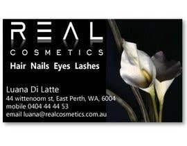 #7 for Business Card Design for Real Cosmetics by KavinKV