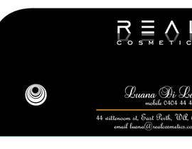 #11 para Business Card Design for Real Cosmetics por sameervarvatkar