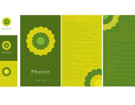 "#77 para Logo (for website, restaraunt front and uniforms) and Menu Design for ""PhoInn"" por Raylenej"