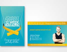 #34 para Business Card Design for Johnny Harper's 12 Week Body & Mind Transformation por iamwiggles