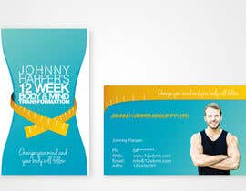 #13 para Business Card Design for Johnny Harper's 12 Week Body & Mind Transformation por iamwiggles