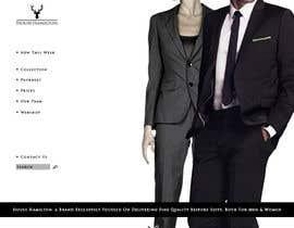 succinct tarafından Design a Website Mockup for a stylish bespoke fashion brand için no 68