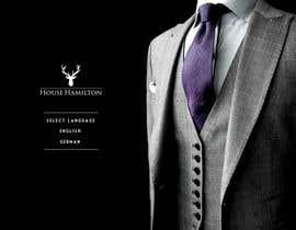 succinct tarafından Design a Website Mockup for a stylish bespoke fashion brand için no 93