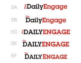 #150 para Design a Logo for The Daily Engage por kotysoft