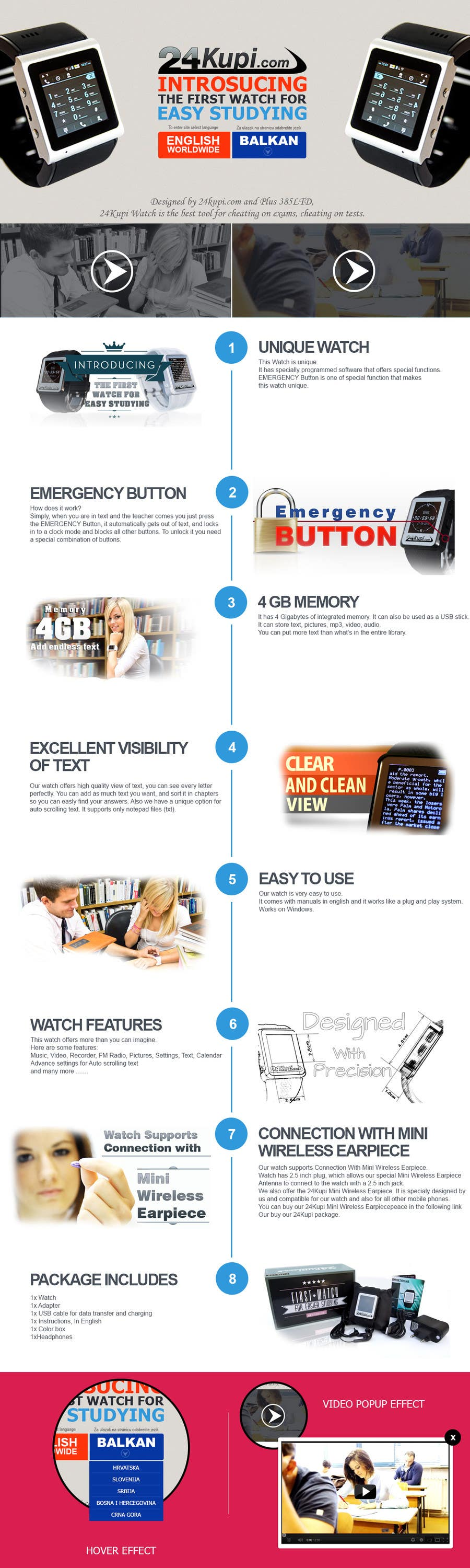#6 for Landing page DESIGN Pro Only ! by AsimDotPro