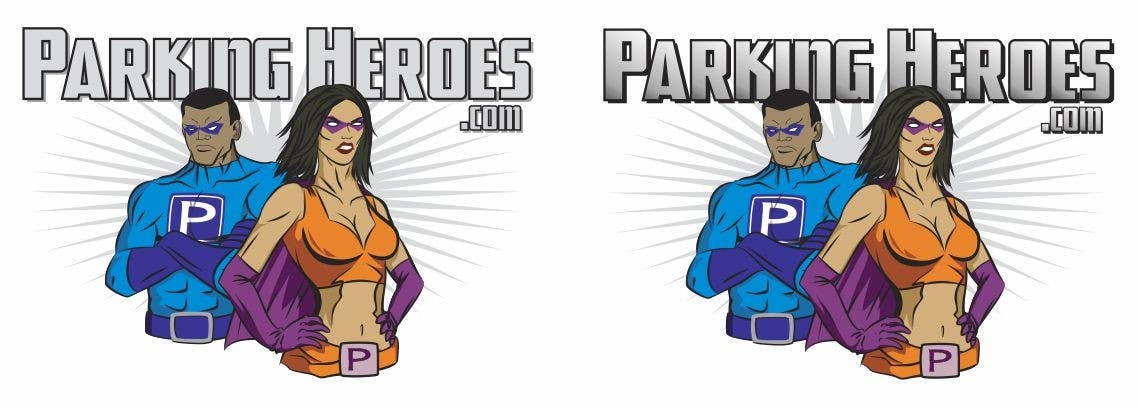 Конкурсная заявка №13 для ParkingHeroes.com  Guaranteed $ Illustrators needed 2 characters !!  Sealed Contest... See Samples