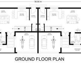 #33 for Provide a floor plan for a duplex by eegleyez