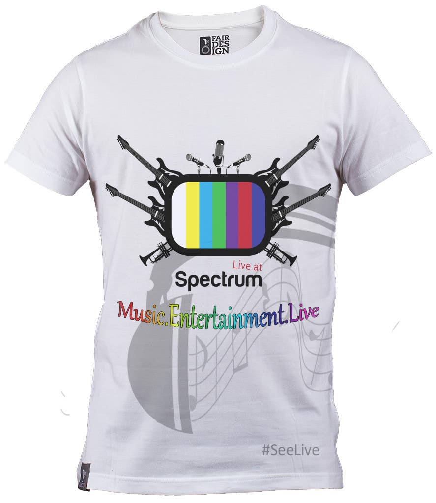 Entry 20 By Anuranpandit95 For Design A T Shirt For Our Music Tv