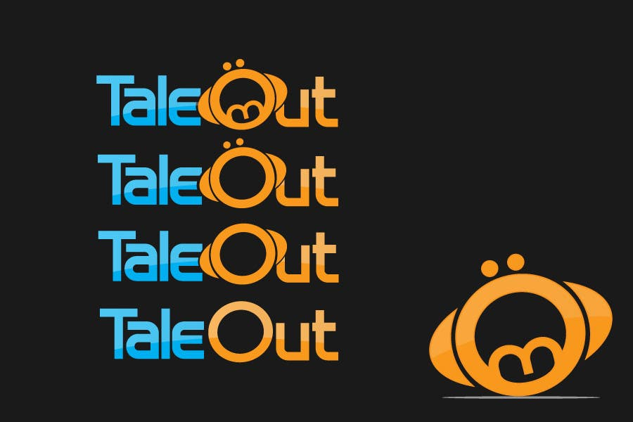 "Contest Entry #157 for Logo Design for ""TaleOut"""