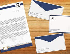 #13 untuk Design a template for our letters and envelopes oleh DannyDesigns