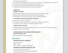 #6 cho Graphic Design for Curriculum Vitae bởi Youg