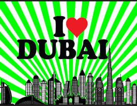 #101 for I Heart Dubai for sound activated LED shirt by maatru