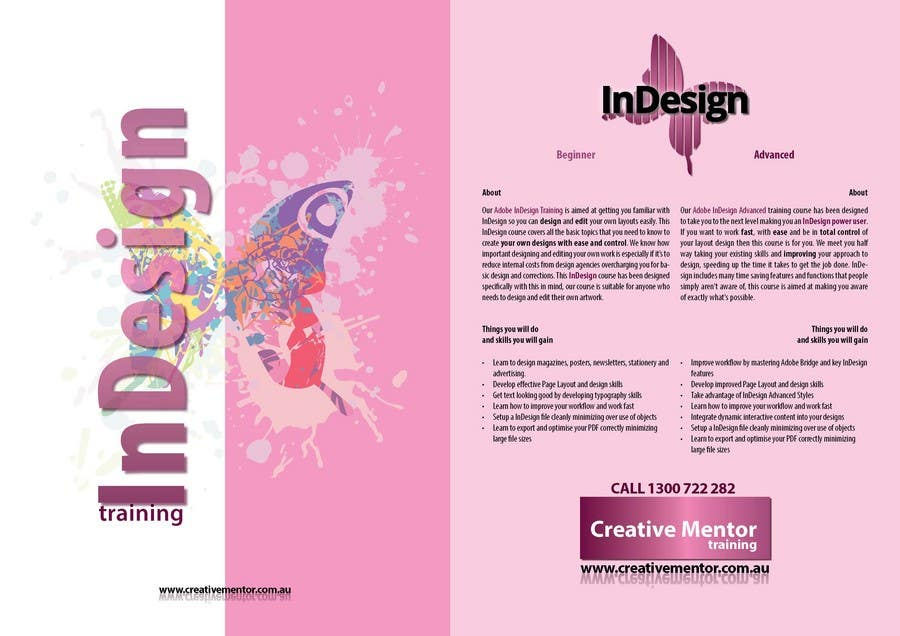 Contest Entry #                                        5                                      for                                         Brochure Design for Creative Mentor Training