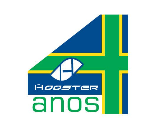 #3 for Commemorative Logo + Key Visual Hooster by basitsiddiqui