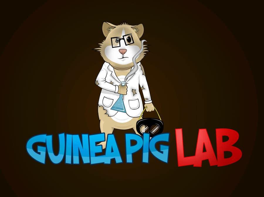Penyertaan Peraduan #                                        11                                      untuk                                         Design a Guinea Pig  logo and character for online store!