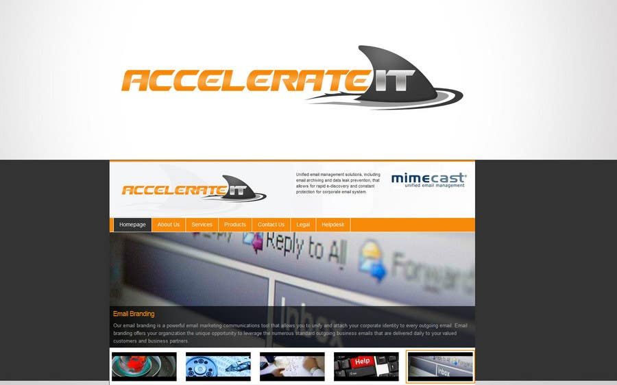 Contest Entry #154 for Logo Design for Accelerate IT