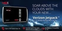 Graphic Design Kilpailutyö #48 kilpailuun Advertisement Design for Verizon Wireless Premium Retailer- The Wireless Center