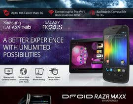 #46 for Advertisement Design for Verizon Wireless Premium Retailer- The Wireless Center by wademd
