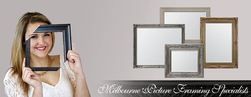 Inscrição nº                                         5                                      do Concurso para                                         Design a Banner for Custom Framing business
