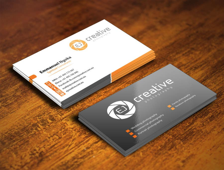 Professional Business Cards For Photographers Choice Image - Card ...