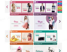 #36 for Design an e-commerce website mockup (Design Only, No programming Required) by tamamanoj