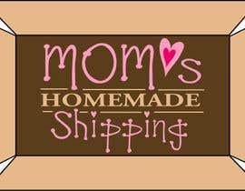 #113 untuk Logo Design for Mom's Homemade Shipping oleh DMPartist