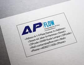 #56 para Design a Logo for AP Flow de ugraphix