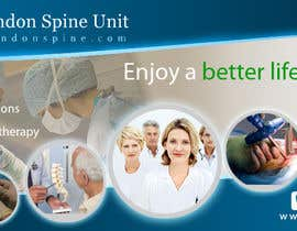 #85 para Banner Ad Design for London Spine Unit por farhanpm786