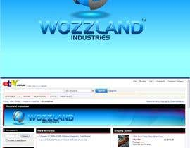 #189 para Logo & eBay Store Design for Wozzland Industries por coreYes