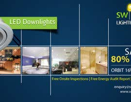 #25 para Advertisement Design for Switched On Lighting & Electrical por toybox29