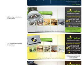 #35 pentru Advertisement Design for Switched On Lighting & Electrical de către toybox29