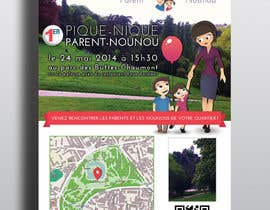 #12 for Create a flyer to advertise picnic related to website launch (in French) by Mimi214