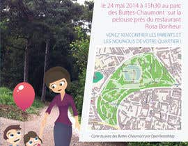 #26 for Create a flyer to advertise picnic related to website launch (in French) by amcgabeykoon