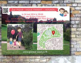 #11 for Create a flyer to advertise picnic related to website launch (in French) by Sele2