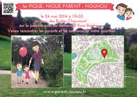 Contest Entry #14 for Create a flyer to advertise picnic related to website launch (in French)