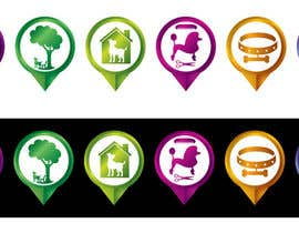 #7 para Redesign 15 Map Markers for a Locator Page por kalpa1lanka