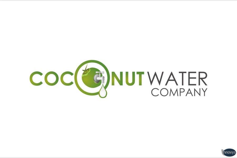 Penyertaan Peraduan #189 untuk Logo Design for Startup Coconut Water Company