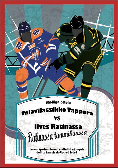 Contest Entry #12 for Graphic Design for Hockey event