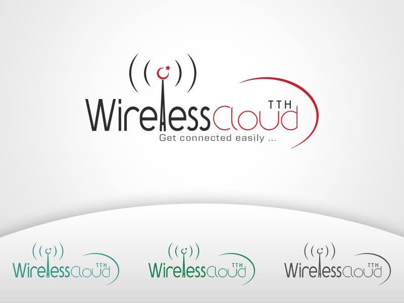 Penyertaan Peraduan #                                        762                                      untuk                                         Logo Design for Wireless Cloud TTH