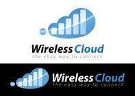 Graphic Design Entri Peraduan #597 for Logo Design for Wireless Cloud TTH